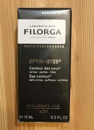 🔥-40%🔥 крем вокруг глаз от кругов, мешков и морщин filorga optim-eyes 15 мл