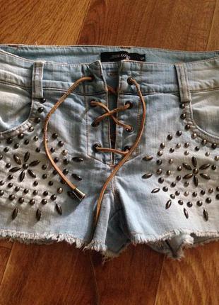 Шорты denny rose джинсовые