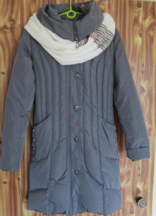 Пальто-пуховик куртка