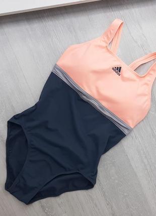 Adidas купальник цельный с чашкам