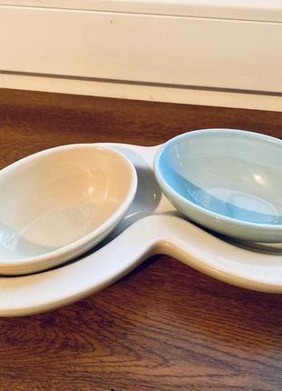 Винтажные керамические блюдца