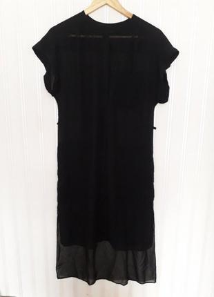 Удлиненная рубашка туника размер l