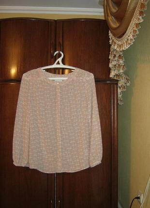 Блуза monsoon лебеди , размер 16