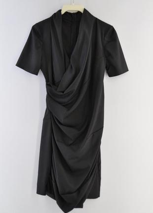 Черное вечернее и нарядное платье cinema donna