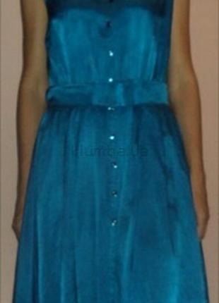 Платье миди полированная вискоза р с-м-л