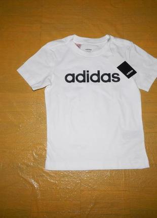 Р. 110-116, новая футболка adidas, оригинал!