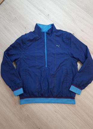 Спортивная ветровка куртка штормовка  puma l