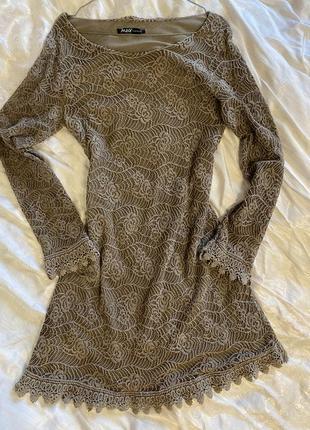 Идеальное кружевное платье !