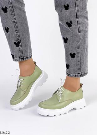 Оливковые туфельки. 36-40