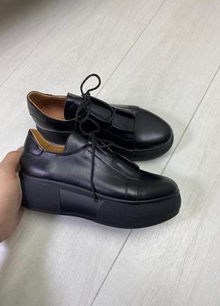 Туфли материал натуральная кожа
