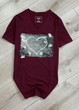 Хлопковая футболка converse оригинал