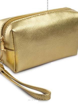 Шок цена 💣💣💣! золотая косметичка faberlic.