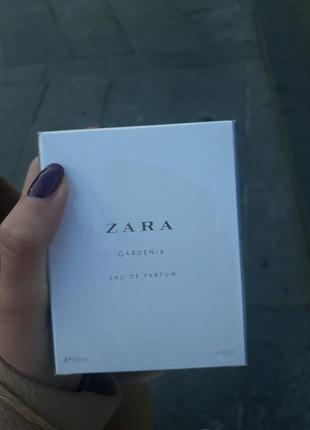 Крутые духи zara (gardenia)