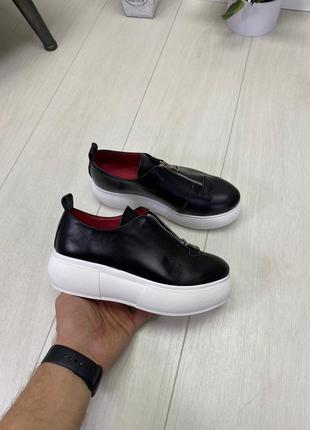 Туфли материал: натур. кожа
