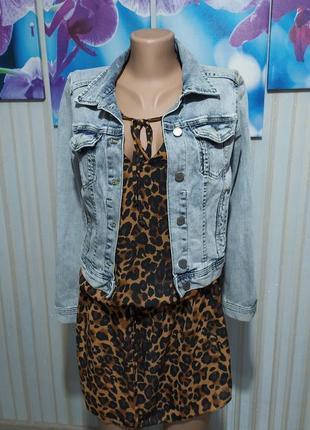 Суперская джинсовая куртка от h&m3 фото