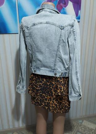 Суперская джинсовая куртка от h&m6 фото