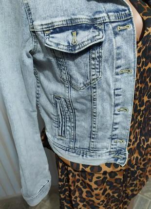 Суперская джинсовая куртка от h&m5 фото