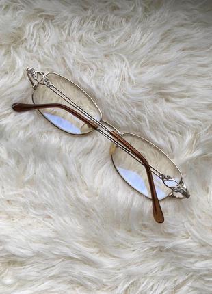 Очки для работы за компьютером компьютерные очки прямоугольны с тонко металлическо оправой