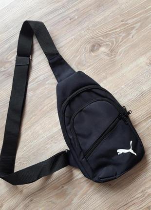 Мужская сумка через плечо, нагрудная сумка