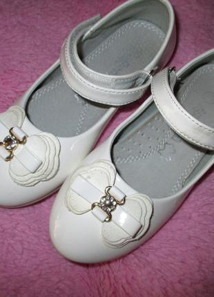 Нарядные белые туфли, туфельки , apawwa