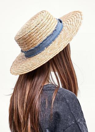 Нова шляпка канотьє бренду stradivarius