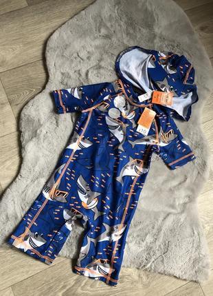 Купальный костюм ромпер