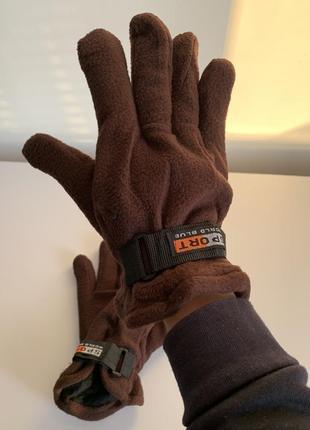 Перчатки, рукавиці, для мальчика, для хлопчика, коричневі рукавиці.