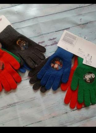 Перчатки с супергероями dc