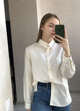 Молочная базовая рубашка