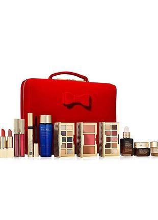 Подарочный набор декоративной и уходовой косметики estee lauder blockbuster