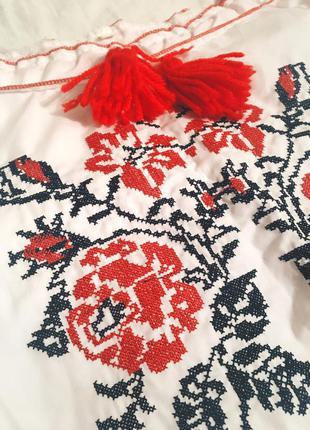 Вышиванка ручная вышивка
