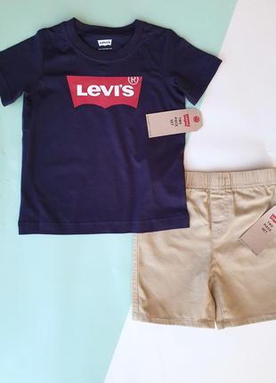 Комплект из 2 предметов levis оригинал 86-92; 92-98