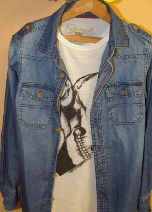 Рубашка джинсовая rebel