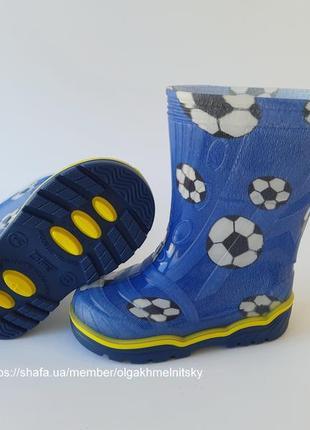 Резиновые сапоги детские гумові чоботи резинові 23-35