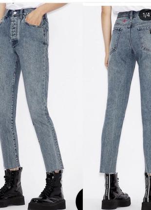 Суперовые джинсы момы armani exchange p.25-25 оригинал 2021