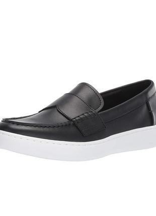 Туфли мокасины лоуферы 40р 26,5см