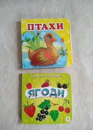 Книжка для найменших птахи і ягоди