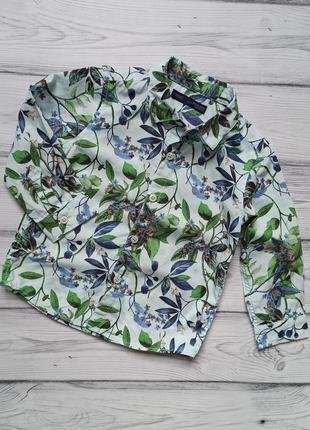 Нарядная рубашка next для малыша 1-1, 5 года