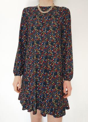 Сукня papaya, плаття в квіточку, платте свободного кроя