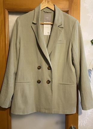 Льняной пиджак next