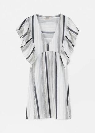 Шикарный сарафанчик . стильное платье . полоска