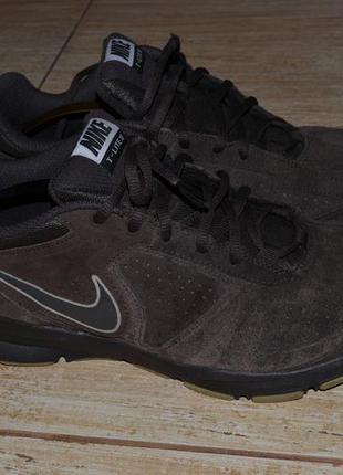 Nike t-lite 11. кроссовки  замшевые. ботинки 41.5-41р. оригинал 2014г