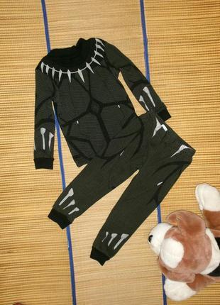 Пижама хлопковая для мальчика 3года