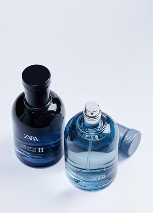 Парфюмерная вода zara night pour homme ii+night pour homme ii summer