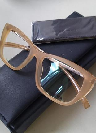 Новая оправа jil sander титановая унисекс премиум матовая оригинал очки жиль зандер