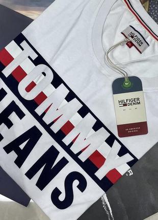 Sale!!!стильна чоловіча футболка tommy hilfiger