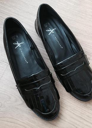 Лаковые туфли лоферы 24ст.