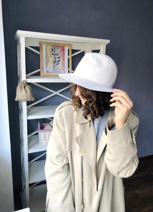 Шикарная шерстяная шляпа от h&m.
