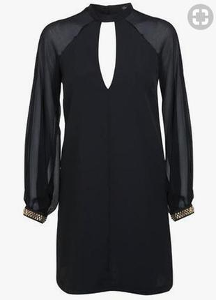 Шикарнейшее платье с  чокером от miss selfridge
