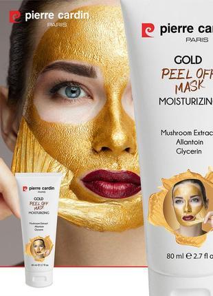 Pierre cardin peel off увлажняющая отшелушивающаяся золотистая маска 80 ml